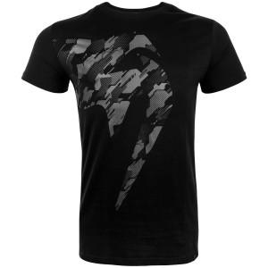 VENUM Giant Tecmo T-shirt, Black/Grey - Koszulka męska na trening