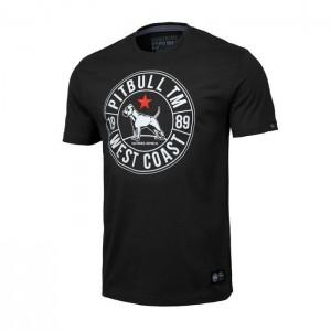 Pit Bull T-shirt Calidog, Black - Koszulka męska