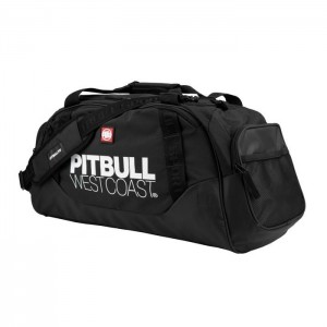 Pit Bull TNT Sports Bag, Black/Black - Torba sportowa