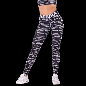 NEBBIA x SEAQUAL leggings 770, Black - Legginsy damskie