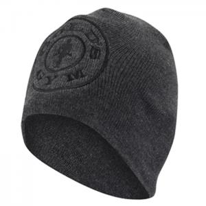Gold's Gym Beanie, Charcoal - klasyczna czapka męska