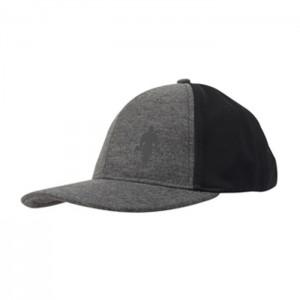 Gold's Gym Flat Peak Cap, Black/Grey - męska czapka z daszkiem