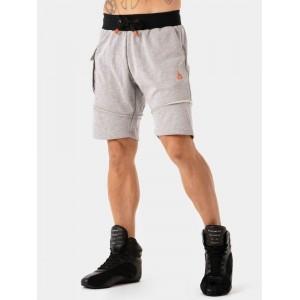 Ryderwear Utility Track Shorts, Grey - Stylowe spodenki męskie