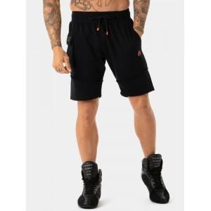 Ryderwear Utility Track Shorts, Black - Stylowe spodenki męskie