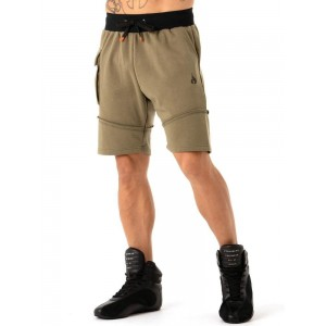 Ryderwear Utility Track Shorts, Khaki - Stylowe spodenki męskie