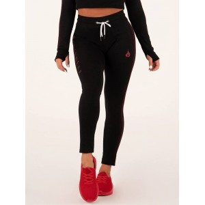 Ryderwear Bsx High Waisted Leggings, Black - Legginsy z wysokim stanem