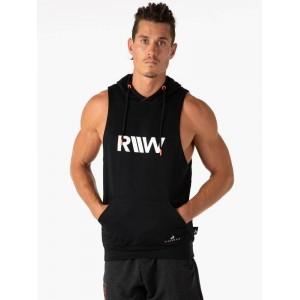 Ryderwear Valley Sleeveless Hoodie, Black - Bezrękawnik męski