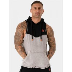 Ryderwear Utility Sleeveless Hoodie Tank, Grey - Bezrękawnik męski