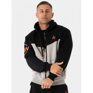 Ryderwear Utility Zip Up Hodie Jacked, Grey - Bluza męska