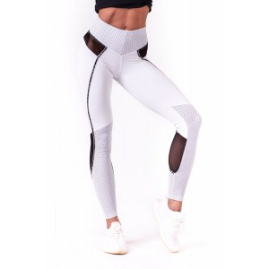 NEBBIA V-butt leggings 605, White - legginsy damskie