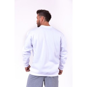 NEBBIA Red Label sweatshirt 148 White - bluza męska