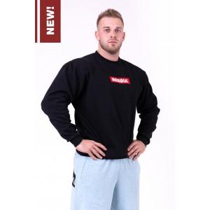 NEBBIA Red Label sweatshirt 148, Black - bluza męska