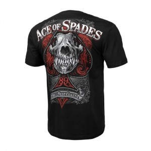 Pit Bull Ace of Spades ,black-koszulka