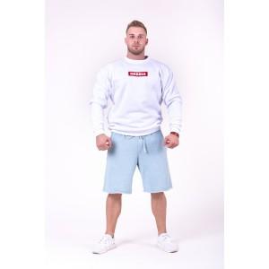 NEBBIA Be rebel! shorts 150, Light Blue- spodenki męskie