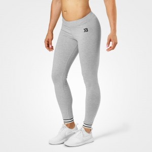 Gracie leggings, Greymelange - Szare legginsy treninngowe  Better Bodies