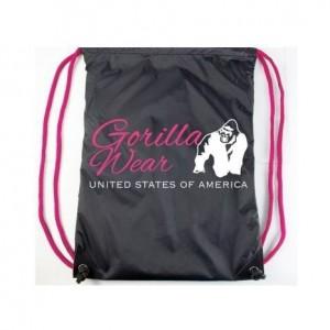 GORILLA WEAR DRAWSTRING BAG - lekki worek-plecak na siłownie,fitness