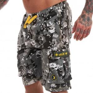 MNX Camo cotton shorts -...