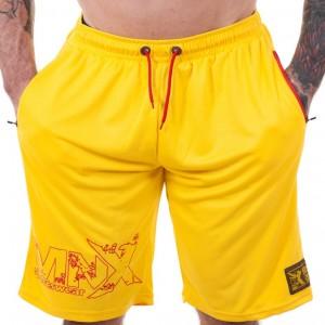 MNX Mesh shorts - żółte...