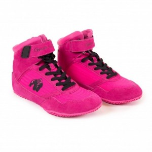Gorilla Wear High tops Pink - buty do treningu damskie