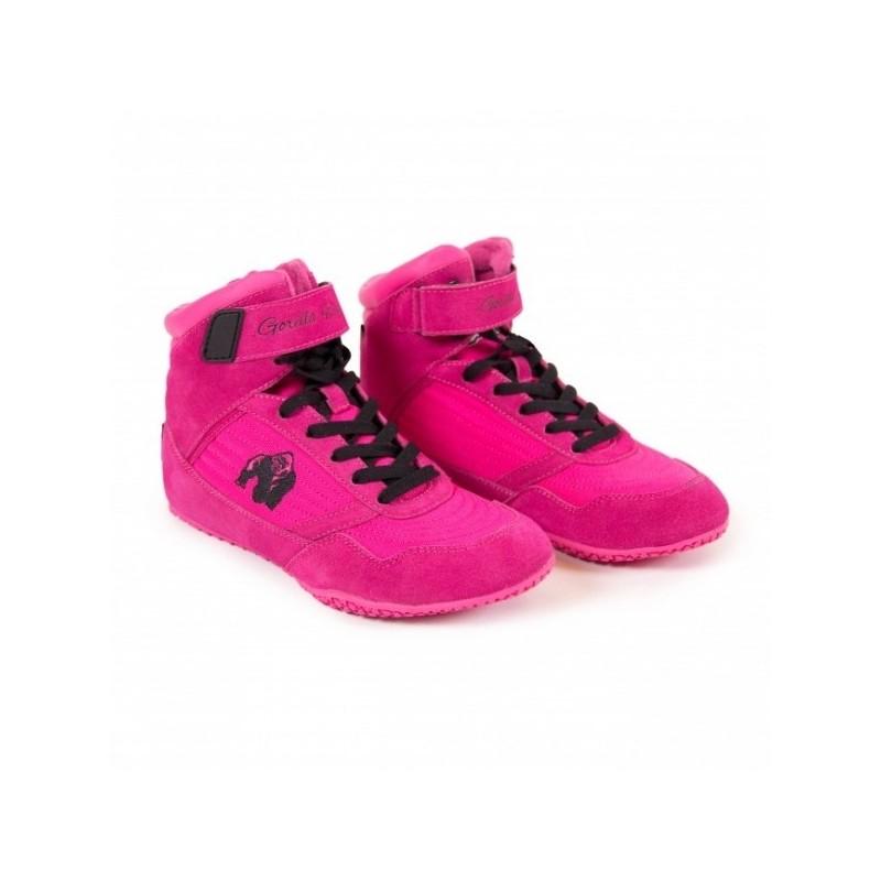 Gorilla Wear High tops Pink - buty do treningu damskie