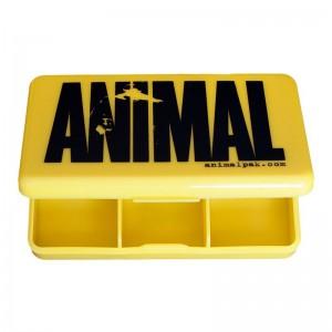 Animal Pill Case - żółty...