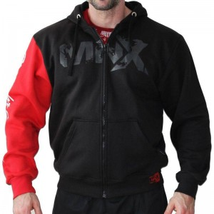 MNX Red Sleeve Hoodie -...
