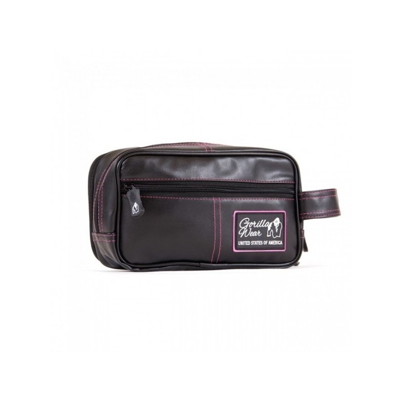 Toiletry Bag black/pink Women - kosmetyczka damska Gorilla Wear U.S.A