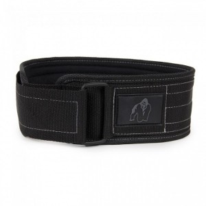 Gorilla Wear 4 Inch (10,6 cm) Nylon Belt - pas do treningu!