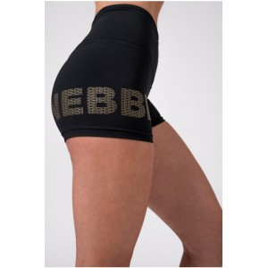 NEBBIA Gold print shorts...