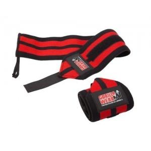 Wrist Wraps PRO Black/Red -taśmy na nadgarstki