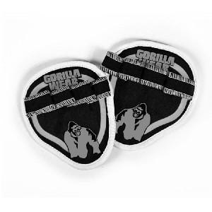 Palm Grip Pads Black/Red - pady do treningu jak rękawiczki Gorilla Wear U.S.A