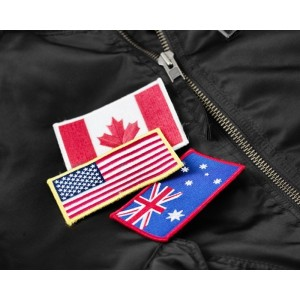 GASP FLAG, USA Flaga amerykańska do kurtki GASP UTILITY JACKET
