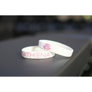 BODY ENGINEERS ATHENA Bracelet – White  opaska sylikonowa