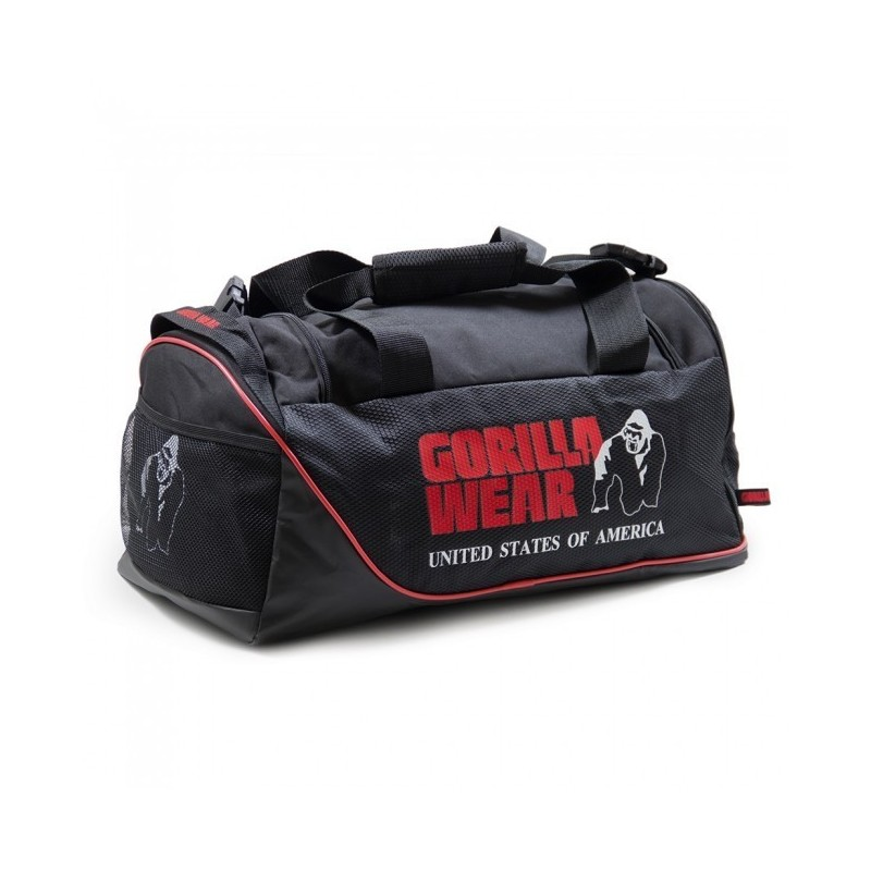 Jerome Gym Bag - Black/Red torba męska do treningu