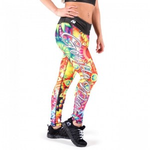 Venice Tights Multi Color Mix legginsy damskie fitness Gorilla Wear U.S.A