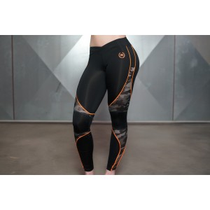 BODY ENGINEERS ARES Camo Legging - damskie legginsy treningowe