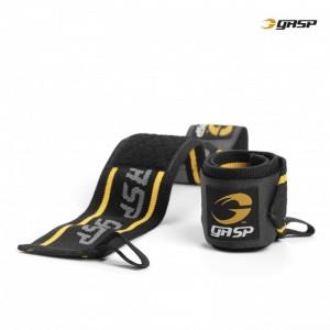 GASP Wrist Wraps, BLACK/YELLOW - opaski na nadgarstki
