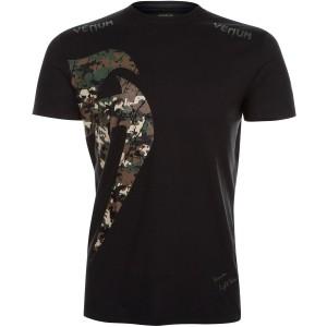 VENUM ORIGINAL GIANT - jungle camo koszulka na siłownię męska