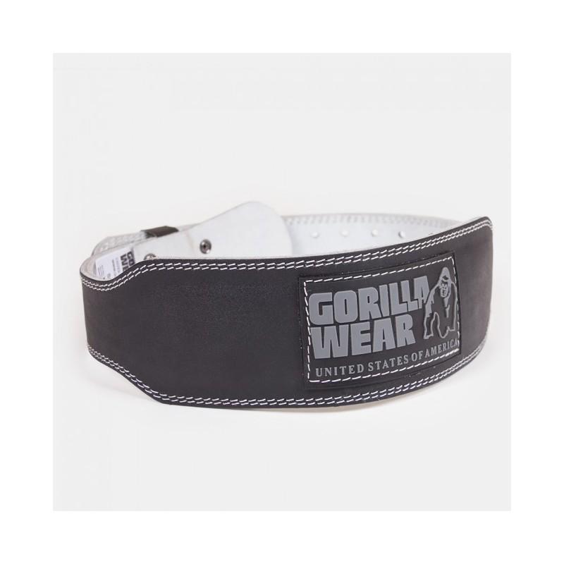 4 INCH Padded Leather Belt - pas kulturystyczny