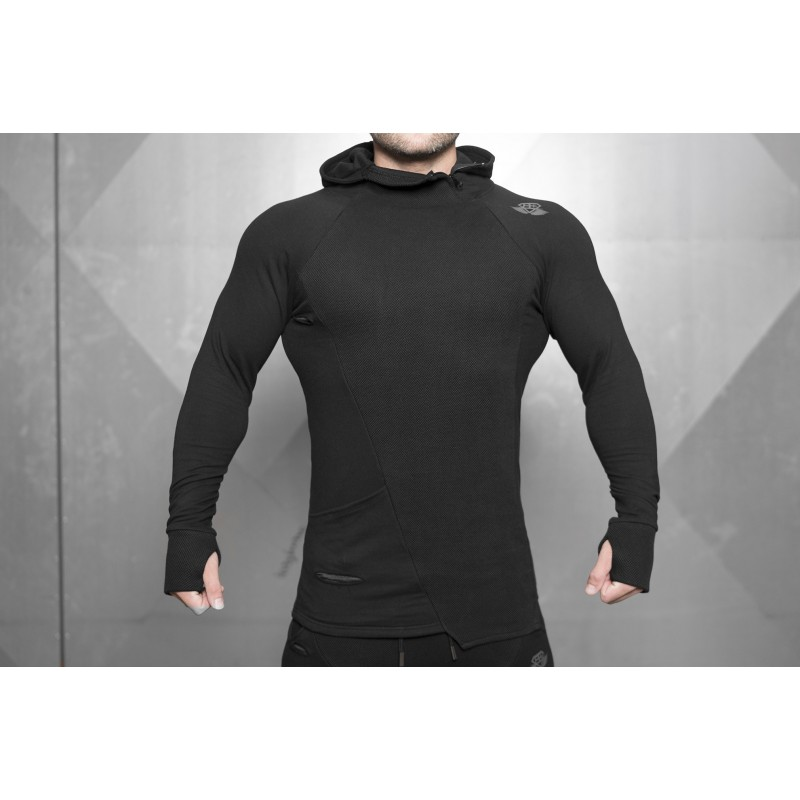 BODY ENGINEERS SVGE FENRIR Prometheus Vest – Black bluza treningowa NOWA KOLEKACJA
