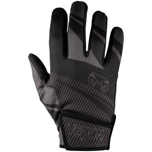 VENUM RUNNER GLOVES - BLACK/GREY - rękawiczki treningowe