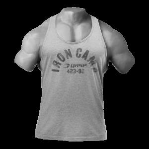 Throwback tank, Greymelange - bokserka męska na siłownię GASP NOWOŚĆ