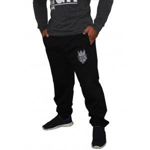 Gym King Classic Sweatpant Schwarz - spodnie bawełniane męskie