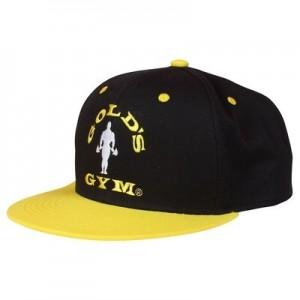 Golds Gym Flat Peak Baseball Cap FullCap - czapka z prostym daszkiem męska NOWOŚĆ