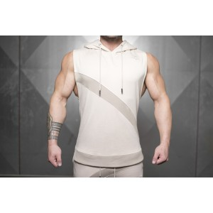 NERI Prometheus Sleeveless Vest -Sand