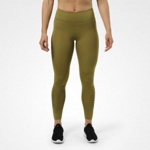 Madison Tights Military Green - leginsy z wysokim stanem Better Bodies