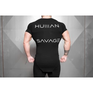 Body Engineers Human Savage Shirt - męska koszulka treningowa
