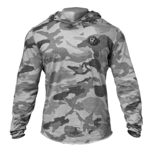 World Off Hood, Snow Camo - bluza męska camo GASP