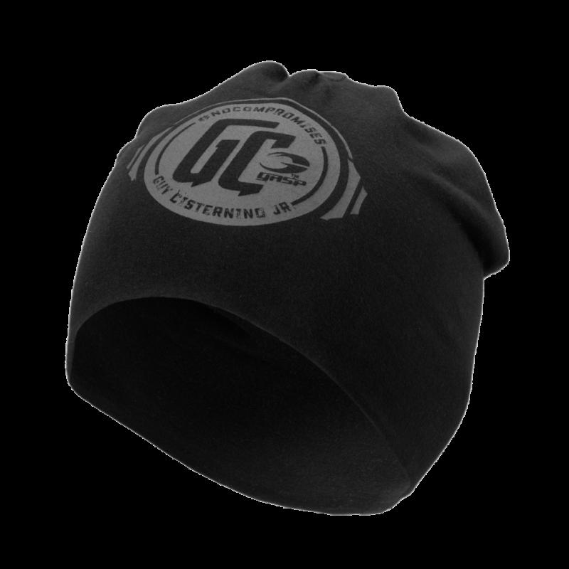 World off beanie - czarna czapka męska GASP NOWOŚĆ