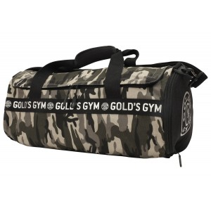 Gold's Gym Camo Print Barrel Bag - kompaktowa torba sportowa